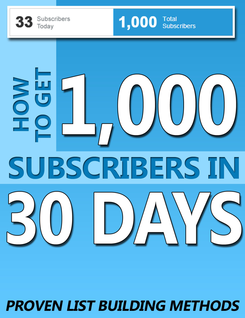 1,000 Subscribers in 30 Days