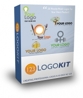 123 Logo Kit Graphic with Master Resell Rights