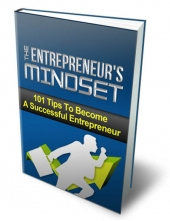 The Entrepreneur's Mindset eBook with Private Label Rights