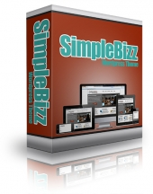 SimpleBizz Wordpress Theme Template with Personal Use Rights/Developer Rights