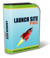 Launch Site Pro Software with Private Label Rights