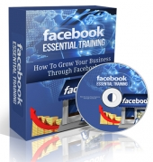 Facebook Essential Training Video with Personal Use Rights