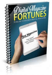 Digital Magazine Fortunes eBook with Private Label Rights