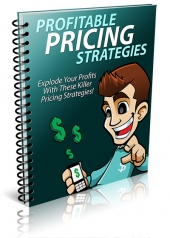 Profitable Pricing Strategies eBook with Private Label Rights