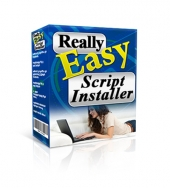 Really Easy Script Installer Software with Master Resell Rights/Giveaway Rights