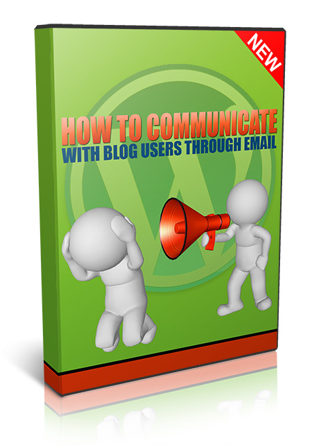 How To Communicate With Blog Users Through Email