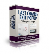 Last Chance Exit PopUp Software with private label rights