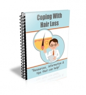 Coping with Hair Loss Ecourse eBook with private label rights