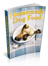Homemade Dog Food eBook with Master Resell Rights