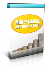 Money Making Methods Video Series Volume 1 & 2 Video with Personal Use Rights