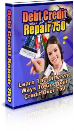 Debt Credit Repair 750