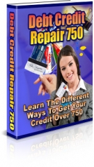 Debt Credit Repair 750 eBook with Private Label Rights