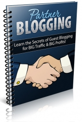 Partner Blogging eBook with Private Label Rights