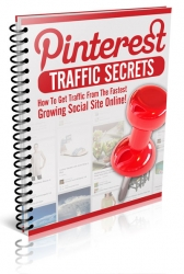 Pinterest Traffic Secrets eBook with Private Label Rights