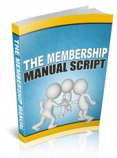 The Membership Manual 2014 eBook with private label rights