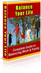 Balance Your Life eBook with Resell Rights