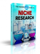 The Insiders Guide To Niche Research eBook with Resell Rights