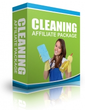 Cleaning Affiliate Package Video with Resell Rights