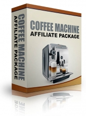 Coffee Machine Affiliate Package Video with Resell Rights