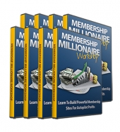 Membership Millionaire Workshop Video with Personal Use Rights