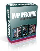 WP Promo Wordpress Theme Template with Master Resell Rights