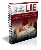 List Building Lie eBook with Private Label Rights