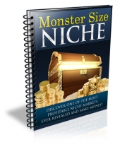 Monster Size Niche eBook with Private Label Rights