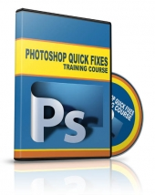 Photoshop Quick Fixes Training Course Video with Personal Use Rights