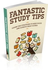 Fantastic Study Tips eBook with Master Resell Rights