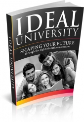 Ideal University eBook with Master Resell Rights