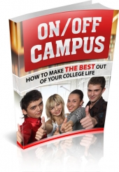 On/Off Campus eBook with Master Resell Rights