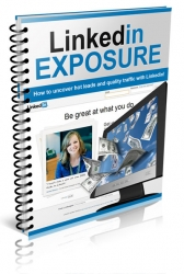 LinkedIn Exposure eBook with Private Label Rights