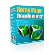 Home Page Randomizer Software with Master Resell Rights/Giveaway Rights