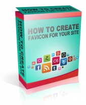 How To Create A Favicon For Your Site Video with Master Resell Rights/Giveaway Rights