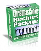 Christmas Cookie Recipes Package eBook with Resell Rights