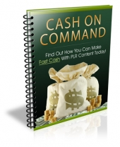 Cash on Command eBook with Private Label Rights