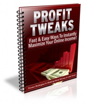 Profit Tweaks eBook with Private Label Rights