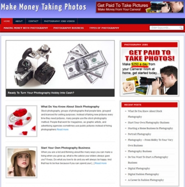 Make Money From Photography Blog