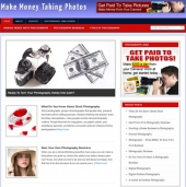 Make Money From Photography Blog Wordpress TurnKey for Personal Use (Gold membership) with private label rights