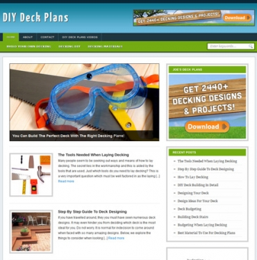 DIY Deck Plans Blog