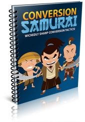 Conversion Samurai eBook with Giveaway Rights