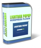Lightbox Popup WordPress Plugin Software with private label rights