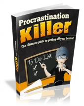 Procrastination Killer eBook with Master Resell Rights