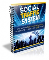 Social Traffic System eBook with Private Label Rights