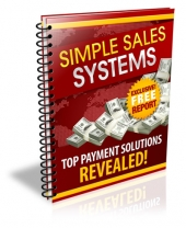 Simple Sales Systems eBook with Private Label Rights