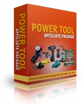 Power Tool Affiliate Package eBook with Resell Rights
