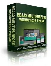 BEJJO Multipurpose WordPress Theme Template with Personal Use/Developer Rights