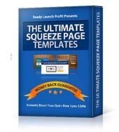 Ultimate Squeeze Page Templates Template with Personal Use/Developer Rights