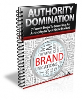 Authority Domination eBook with Private Label Rights