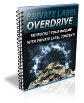 Private Label Overdrive eBook with Private Label Rights